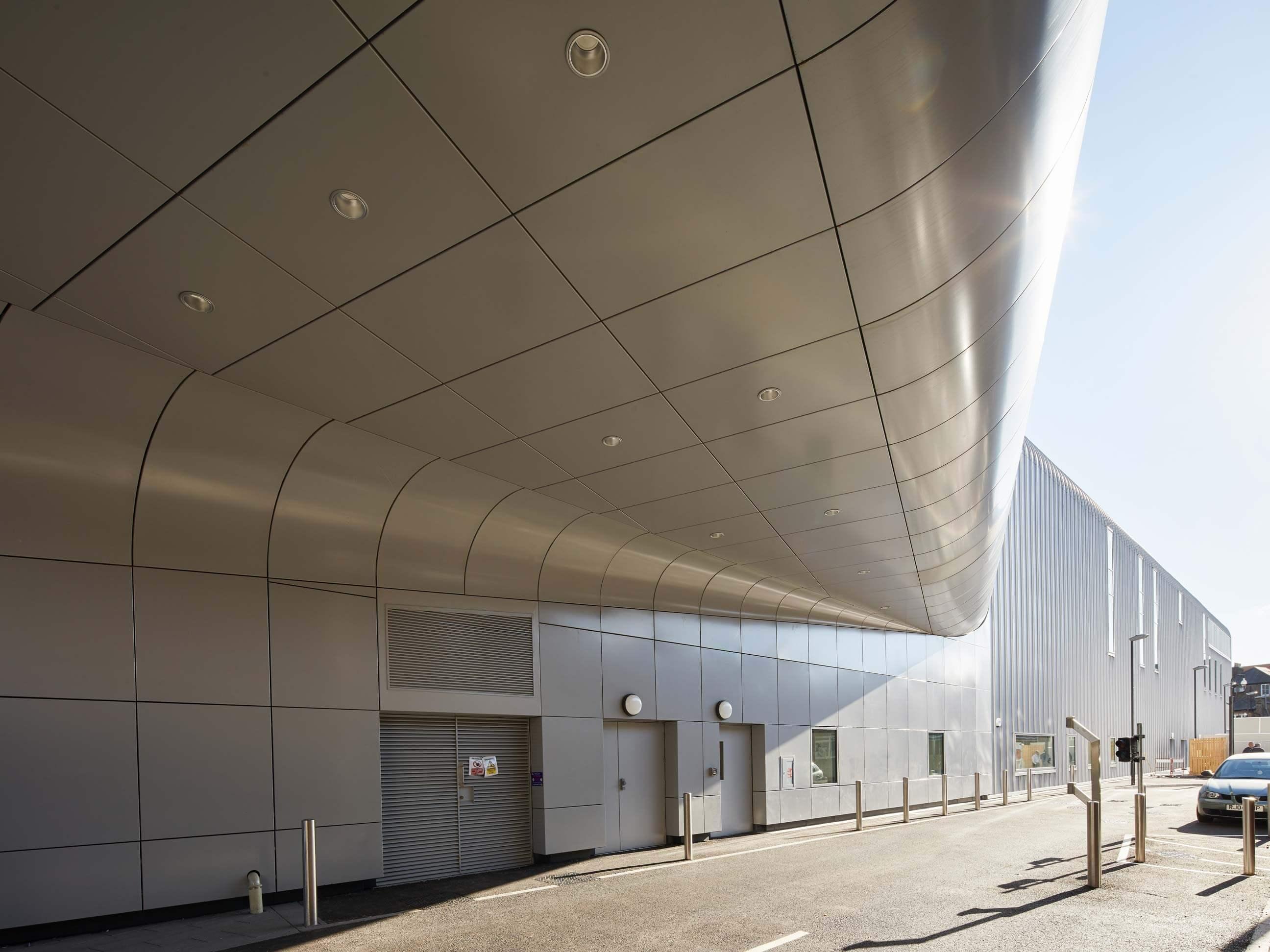 Architectural Soffit Fascia : Aluminium fascia panels aluminum soffits metalline