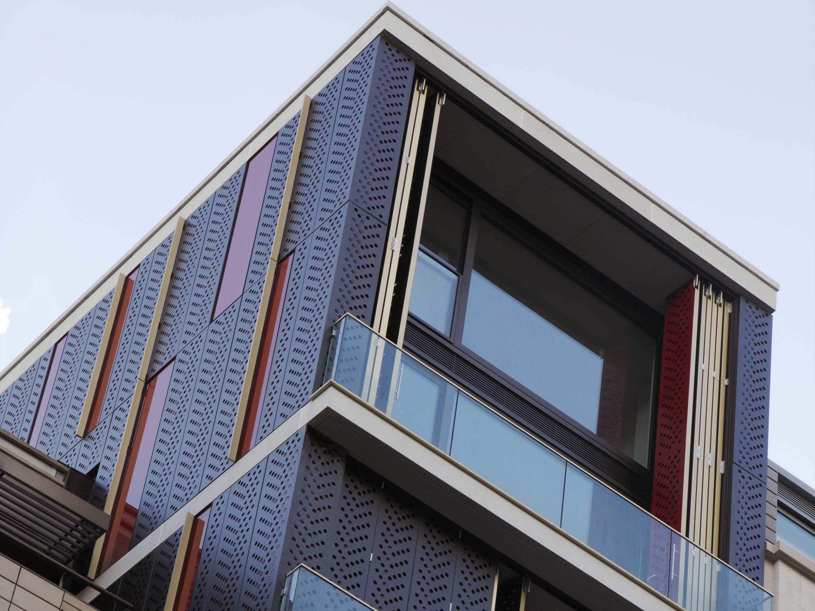 Aluminium Cladding Rainscreen Panels 1